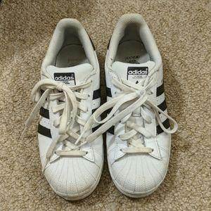 Adidas Superstars - Black and White